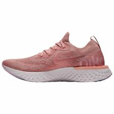 Nike Epic React Flyknit Rust Pink Tint Tropical Pink Barely Rose AQ0070 602 Size