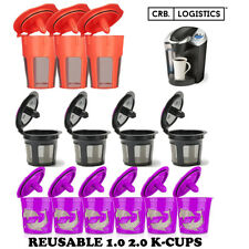 Refillable Reusable K-Cup K Carafe Coffee Filter Pod Fits Keurig 2.0 1.0 Coffee