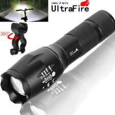 Tactical 50000Lumens LED T6  LED Flashlight Zoomable 18650 Torch Lamp Light
