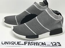 ADIDAS NMD CS1 OG PK CITY SOCK GLOW UK 5 6 7 8 9 10 11 12 PRIMEKNIT BLACK WHITE