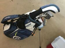 Junior Cleveland Golf Set (Ages 4-6). Left-handed, 3 clubs and a stand bag.