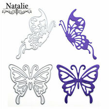 2pcs Butterfly Metal Cutting Dies For Scrapbooking Diy Cards Album Decoration