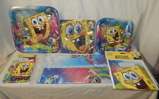 Spongebob Epic Party   Plates, Napkins, Invites & Thank you, Bags, Tablecover