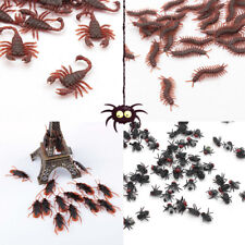10x Funny Practical Jokes Halloween Simulation Centipede Cockroach fly Scorpion