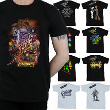 Avengers Infinity War T-Shirt Mens Official Marvel Merchandise