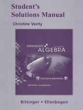 Intermediate Algebra : Concepts and Applications by Marvin L. Bittinger (2009, P