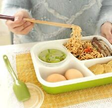 4 Cells Healthy Plastic Lunch Box Food Container 1000ml Multifunction