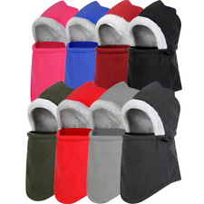 Winter Warm Motorcycle Thermal Fleece Hat Balaclava Ski Full Face Neck Mask Cap