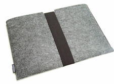 Surface Go (2018) felt sleeve case wallet WITH STRAP, PERFECT FIT, 5 colours!