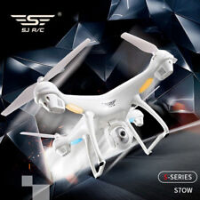 S70W 2.4GHz GPS FPV Wifi Drone RC Quadcopter 1080P Camera Follow Me Mode White