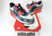 DS NIKE  AIR MAX 90 DNM QS INFRA RED WASHED DENIM  700875 400