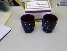 AVON The 1876 Cape Cod Collection Ruby Red Glass 3 3/4