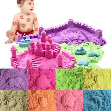 50/100/200g Magic Space Clay Sand Model Non Sticky Educational Kids Play Gift NN