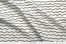 Wave Waves Abstract Wave Abstract Waves Fabric Printed by Spoonflower BTY