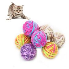 Pet Durable Ball Toys for Cats and Puppy Exercise Toys with Bells 6 Pcs/lot