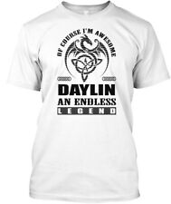 Daylin Legend Dragon Black Men Hanes Tagless Tee T-Shirt