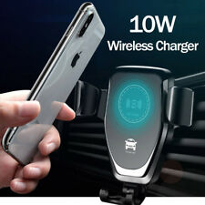 Car Mount Qi Wireless Charger Fast Charging Mount Holder For Samsung iPhone 8 XS