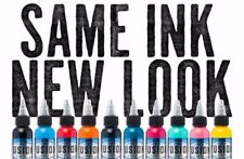 Fusion Tattoo Inks Individual Single Bottles 2 oz 60 ml Size 110 Colors for Pick