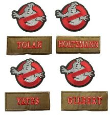 Ghostbusters New Movie Name Tag & No Ghost Logo Embroidered Patches You Choose