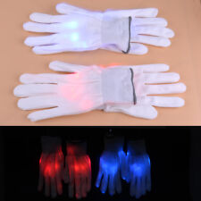 Christmas Halloween Stage Show Light Flash Finger Rave Party EDC LED Glow Gloves