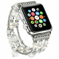 Iwatch Band 38Mm 42Mm 40Mm 44Mm Compatible Artificial Elastic Jewelry Womens