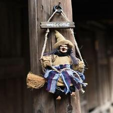 Witch Pendant Scary Trick Ghost Hanging Door Ornaments Horror Haunted Halloween
