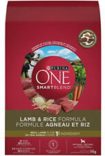 Purina ONE Smartblend Natural Dry Dog Food; Lamb and Rice Formula - 14 Kg Bag