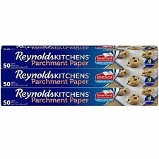 Reynolds Kitchens Parchment Paper Roll With Smartgrid and marked lines