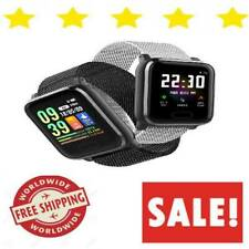 Fitness Tracker Smart Watch With Blood Pressure Monitor Heart Rate Waterproof