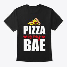 Pizza Is My Bae Party Monster Hanes Tagless Tee T-Shirt