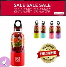 USB Fruit Juicer Cup Electric Portable Blender Smoothie Extractor Blender 500ml