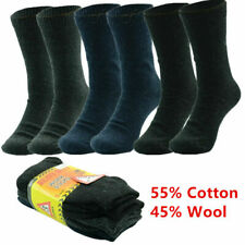 3-12 Pairs LOT For Men Heavy Duty Winter Warm THERMAL Crew Work Boots Socks 9-13