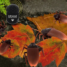 Infrared Remote Control Realistic Mock Fake Cockroach/ RC Toy Prank Insects