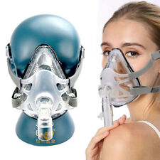 NEW Snore Mask Respirator & CPAP Sleep Full Face Oral-Nasal Mask With Headgear
