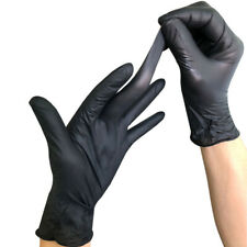 100pcs Safe Disposable Anti Static Gloves Disposable Mechanic Nitrile Gloves