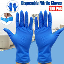 100pcs Nitrile Safe Disposable Anti Static Gloves For Household protective glove