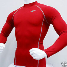 Take Five Mens Compression 051 Sports Top Red