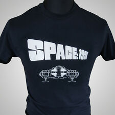 Space 1999 Eagle T Shirt Retro Sci Fi TV Series Vintage Cool Tee Blk