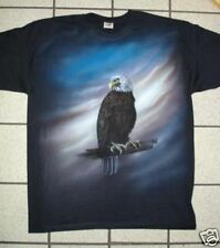 Airbrushed Eagle hand painted t-shirt in all sizes