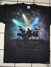 Airbrushed Drummer Percussion Drum T-Shirt all sizes