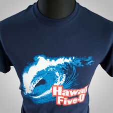 HAWAII FIVE O RETRO T SHIRT CLASSIC 70'S TV SHOW POLICE