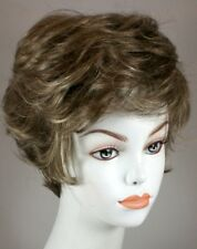 Short Straight Wig Ash Brown/Black/Auburn/Blond Wigs