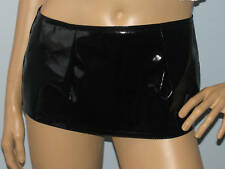 New sexy extra short black pvc micro mini skirt  all sizes free Uk. delivery