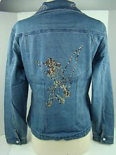 Disney Blue Tinker Bell Denim Jacket-1349