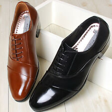 Mens Leather Comfort Dress Oxford Tie Shoes