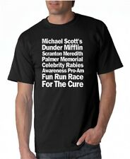 The Office Race for Rabies Cure T-shirt 4 Colors S-3XL