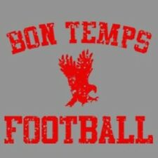 Bon Temps Football T-shirt True Blood TV 3 Colors S-3XL