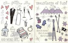 WEDDING or SNOW Sticker Sheet Tree House Designs Choice