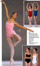 Velvet Velour Stretch Lycra Dance Gymnastic Leotard 436