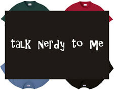 Hoodie - Talk nerdy to me - geek sexual sex